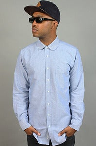 Image of B Round Collar Chambray
