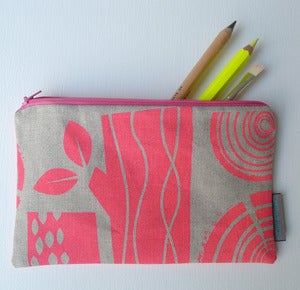 Image of logpile pencil case
