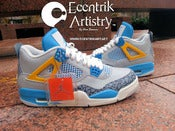 "Image of Air Jordan IV retro ""Brother Of Mars"" Custom"