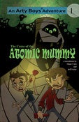 Image of Curse of the Atomic Mummy 2009 Sketchbook
