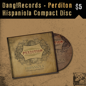 Image of Perdition &quot;Hispaniola&quot; CD 