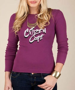 "Image of Women's ""NEW COPE LOGO"" Thermal Long Sleeve"