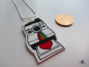 Image of Love Polaroid Necklace