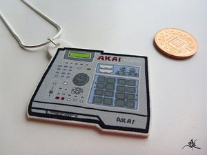 Image of AKAI MPC 2000XL Pendant (Medium)