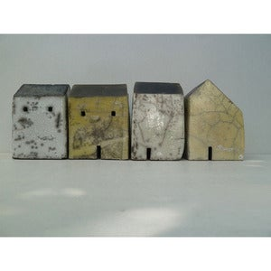 Image of Rowena Brown: raku fired house 1