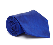 Image of Silk Tie, Blue
