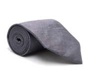 Image of Silk Tie, Grey