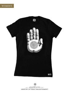 Image of WOMEN'S PALM T-Shirt | Black