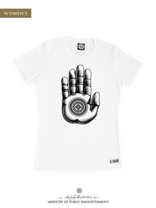 Image of WOMEN'S PALM T-Shirt| White