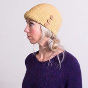 Image of Cloche Hat -Organic Cotton