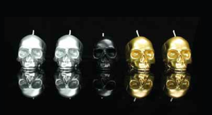 Image of DL & Co. - Mini Skull Gift Set Metallics