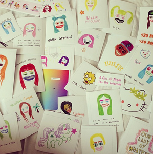 Image of Girl Stickers!