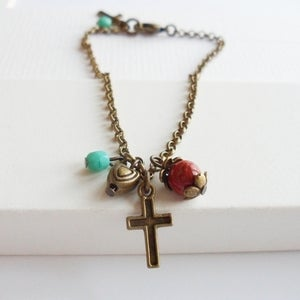 Image of Divine Cross Bracelet