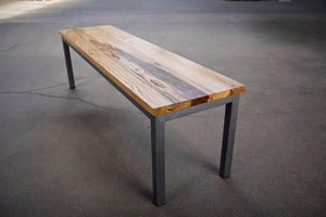 Image of Metal Base Bench