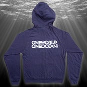 Image of Deep Blue Hoodie, Organic (navy)