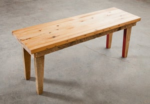 Image of Tapered Leg Coffee Table