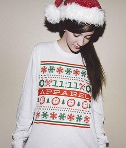 Image of Limited Edition (25) Christmas Long Sleeve T-Shirt