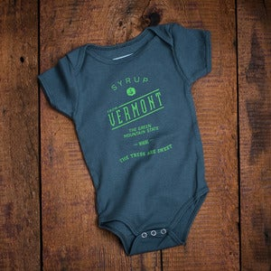 Image of The Trees Are Sweet Baby Onesie And Toddler - Grey