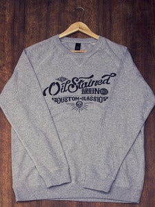 Image of Oil Stained Brain script sweater