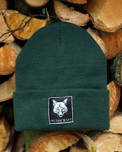 Image of Fuchscraft Beanie &amp;#x27;Fox&amp;#x27; - forest green