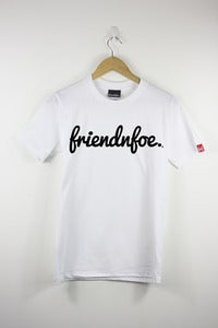 Image of White Logo Tee