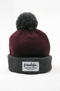 Image of The Red Bobble Hat