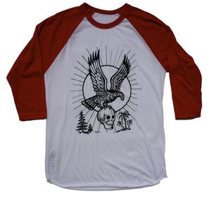 Image of FREEDOM / 3/4 Sleeve Shirt