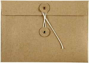 Image of 5 pk of Kraft Envelopes