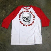 Image of Museum Of Death Hollywood Logo (Red) - Jersey Shirt