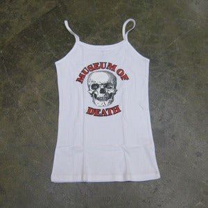 Image of Museum of Death Logo - Women's Strap Top