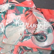 Image of GIFT VOUCHER - FOR HARVEST TEXTILES PRODUCTS 