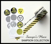 Image of Sampson Caution Mini Collection - Washi Tape & Rourke's Rounds