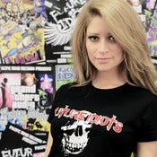 Image of Old Skull Girly Tee