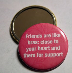Image of Friends are like... Pocket Mirror