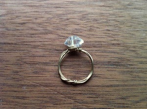 Image of Herkimer Diamond Ring