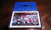 Image of BEAK> mono / kenn ltd TAPE (blue version) ltd 100 copies - hand numbered