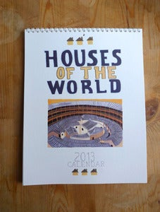 Image of 2013 Houses of the World Calendar - A Small Adventure