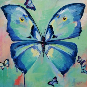 Image of &quot;Butterflies&quot; Print by Niki Arden