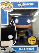"Image of Batman 9"" CHASE version Pop Vinyl DC Universe Funko Vinyl Figure"