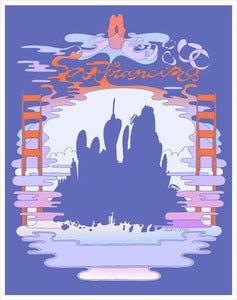 Image of Wary Meyers San Francisco Poster