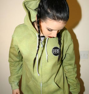 Image of StitchedUp! TieDie Hoody - WEEDS - M