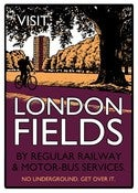 Image of Beyond Thrilled<br>London Fields (Aubergine)