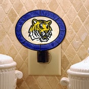 Image of LSU Tigers Art Glass Night Light