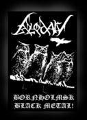 "Image of BLODARV Sew-on Patch ""Bornholmsk Black Metal"""