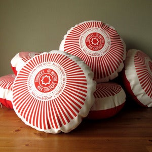 Image of Tunnock's Teacake Printed Cushion