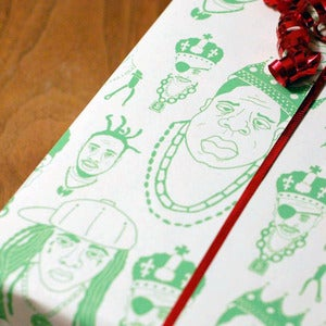 Image of Rapping Paper - Green Single Sheet