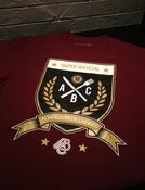Image of ABC Super Official Crest - Gold/Burgandy