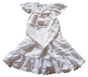 Image of Vintage white size 2 to 3 years angel