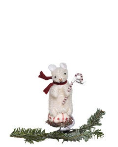 Image of MOUSE ORNAMENT
