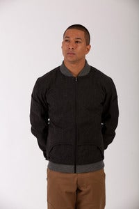 Image of FLIGHT JACKET - SPECKLED TWEED